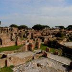 Der archäologische Park von Ostia antica