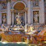 Der Trevibrunnen in Rom