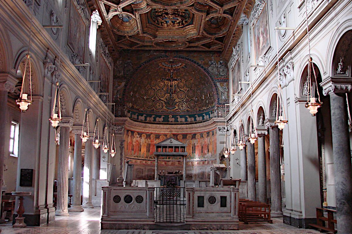 Die Basilika San Clemente in Rom
