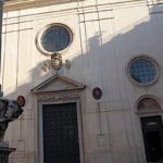 Die  Basilica Santa Maria sopra Minerva in Rom