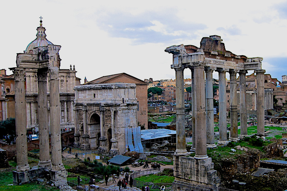Das Forum Romanum