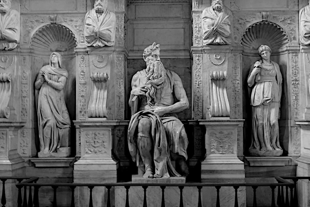 Moses Michealangelo San Pietro in Vincoli Rom