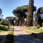 Die Via Appia Antica in Rom