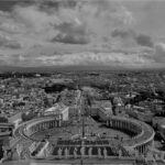 Aussichtsterrassen mit Blick auf Rom