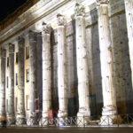 Der Hadrianstempel in Rom